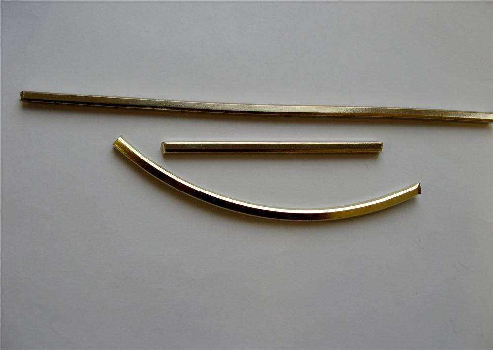 výchozí polotovar - zlatý čtyřhran
